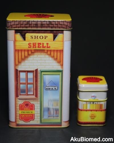 Stesen minyak Shell tahun 1920an