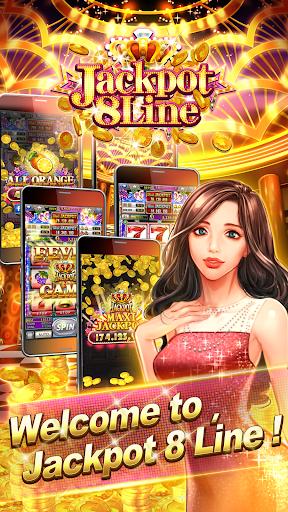 Jackpot 8 Line Slots android2mod screenshots 1