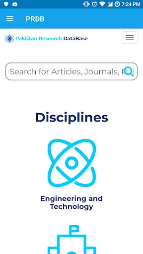 Pakistan Research Database screenshot 2