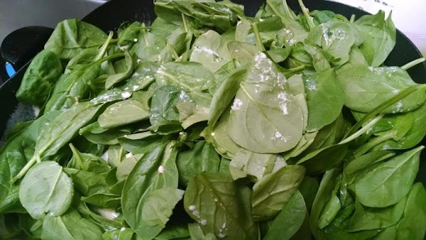Stir in Parmesan, salt and pepper. Add spinach. Cook, covered, for 3-5 minutes or...