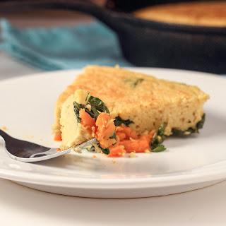 Vegan Kale and Sweet Potato Frittata