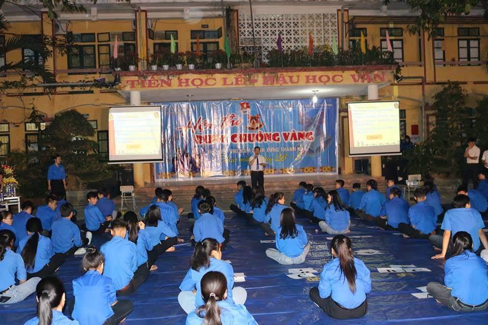 Huyện đoàn Mường Lát phối hợp tổ chức Hội thi Rung chuông vàng tại Trường THPT Mường Lát