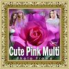 Cute Pink Multi Photo Frames APK