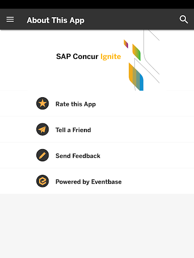 SAP Concur Events 1.0 screenshots 9