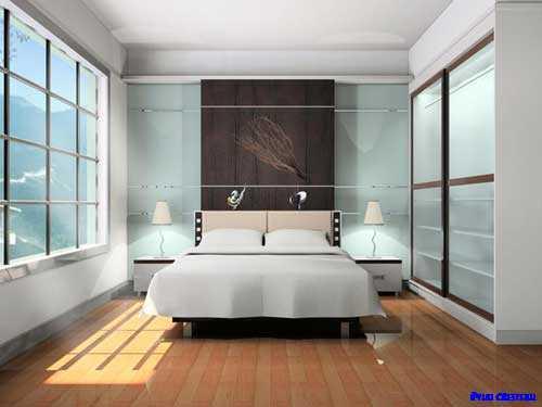 ベッドルームのインテリアデザイン