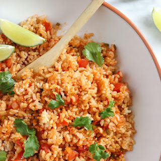 Quick Mexican Brown Rice.