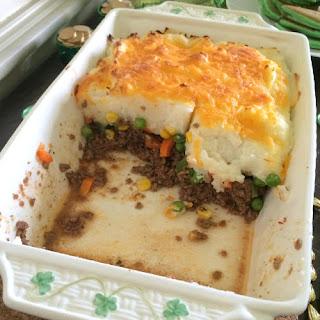 Easy Shepherd's Pie w/Ground Turkey.