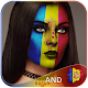 Andorra Flag Face Paint - Selfie Photo Editor icon