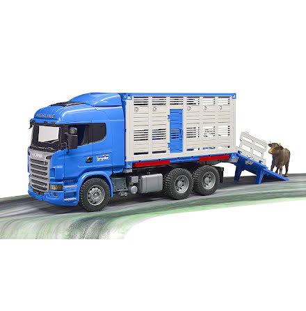 Bruder Scania R-Serie Djurtransport Lastbil