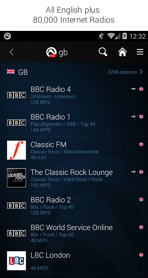 Audials Radio Pro Screenshot 3
