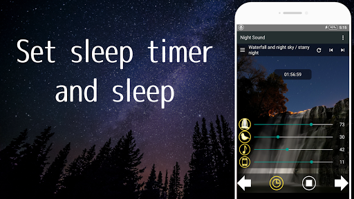 Nature Sounds of the night for comfortable sleep screenshots 2