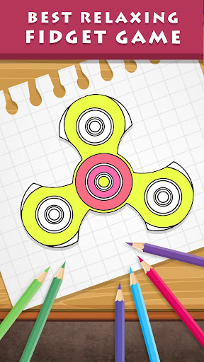 FIDGET SPINNER Drawing and Coloring Pages, and How to Make Easy ... | 512x288