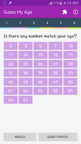 android Guess My Age Screenshot 2