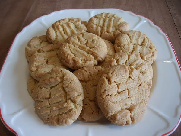 My All Time Favorite Peanut Butter Cookie! I Freeze The Cookies, Then Take Out What I Want To Eat.