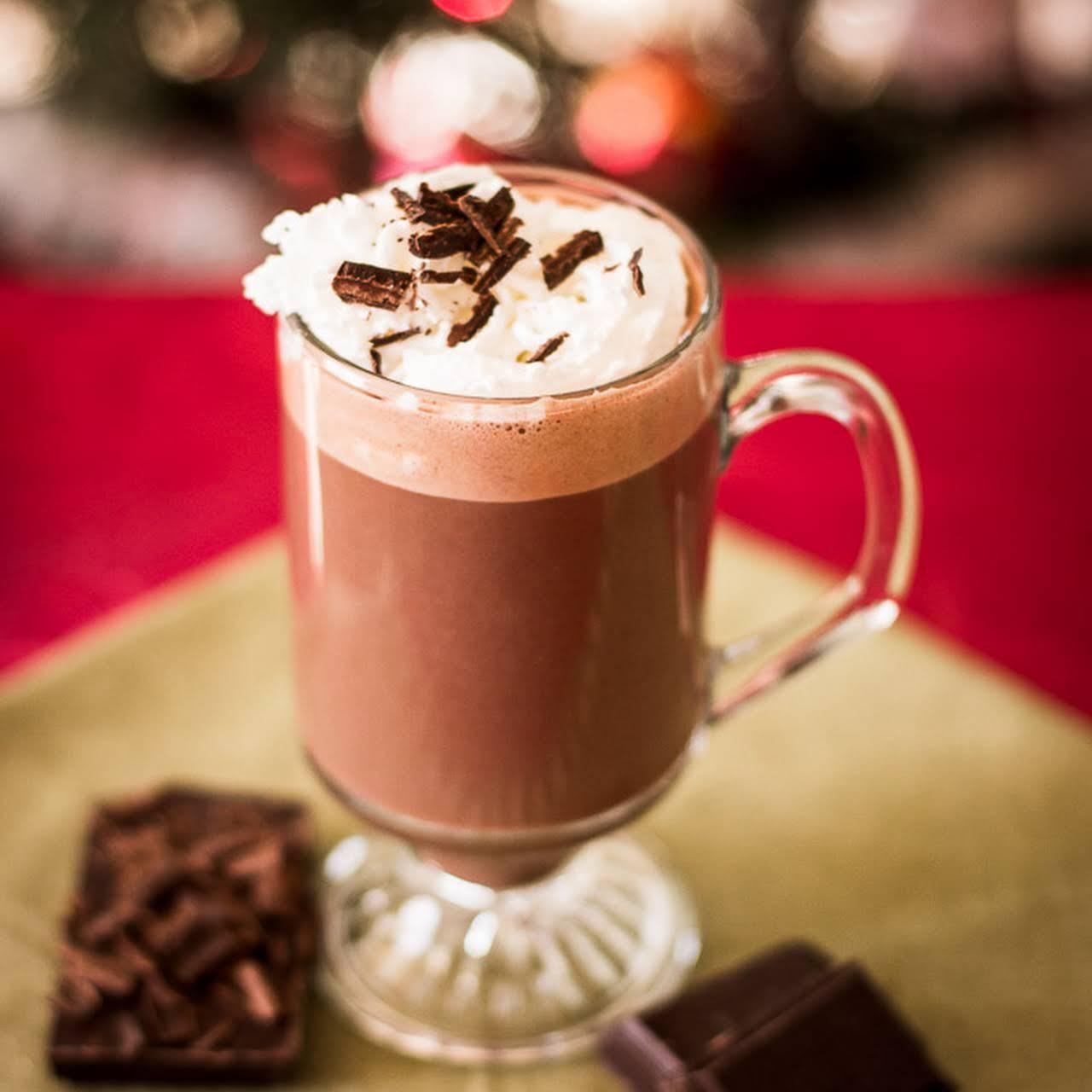 DIY Belgian Hot Chocolate