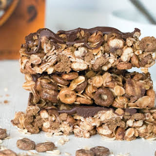 Chocolate Peanut Butter Cheerios Granola Bars.