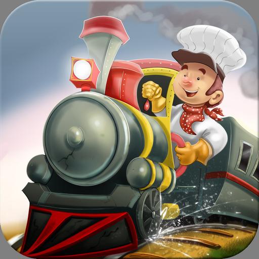 休閒App 3D列车为孩子们的的游戏 LOGO-3C達人阿輝的APP