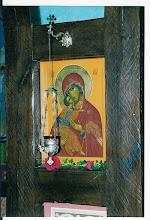Photo: icoon van de Moeder Gods : links van de koninklijke deuren