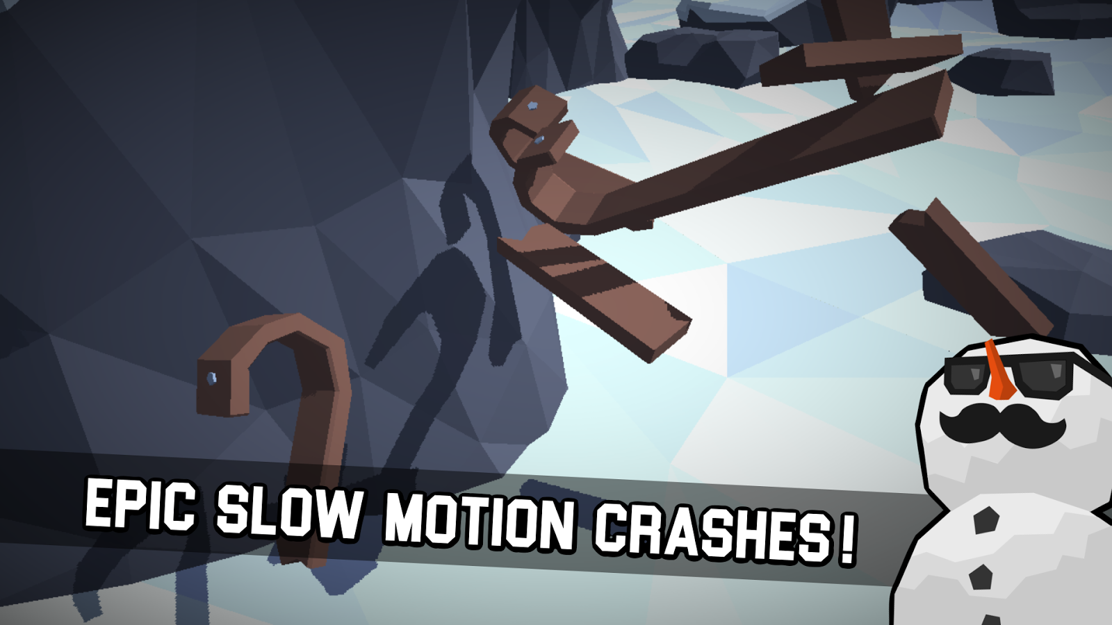 Sledge - snow mountain slide- screenshot