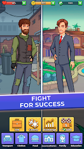 Hobo Life: Business Simulator & Money Clicker Game MOD (Money) 2