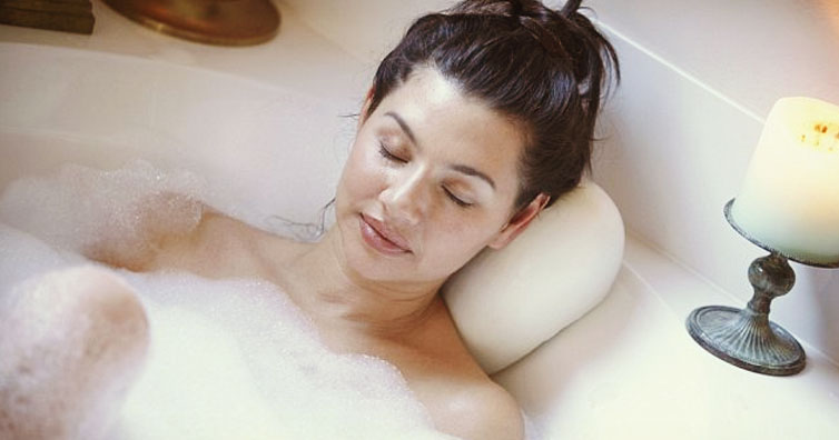 Lying In A Long Hot Bath Burns As Many Calories As A 30 Minute Walk