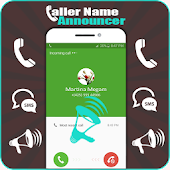 Incoming-Caller Name Announcer and talker