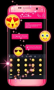 Pink Keyboard For WhatsApp  Download For Android 2