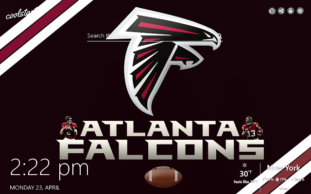 Atlanta Falcons HD Wallpapers NFL Theme