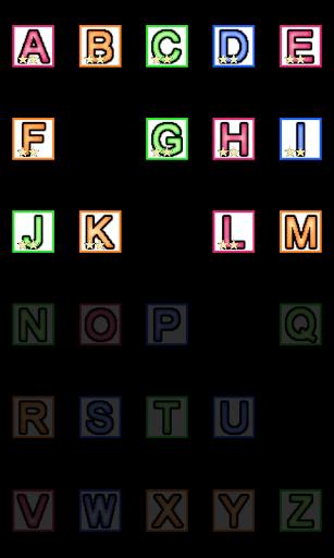 「校園打字機 - 注音鍵盤」注音鍵盤的指法練習,適合初學打字的小朋友