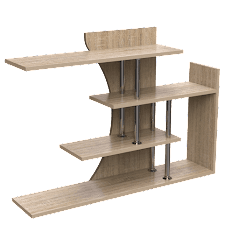 Презентация полки ПУ-8 купить на сайте фабрики Тиса мебель