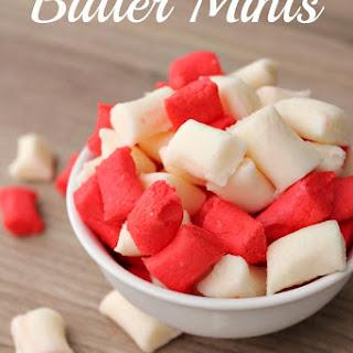 Butter Mints Recipe