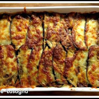 LCHF Aubergine Lasagna Bake