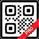 QRコードリーダークイックレスポンスコードリーダーPro - Androidアプリ