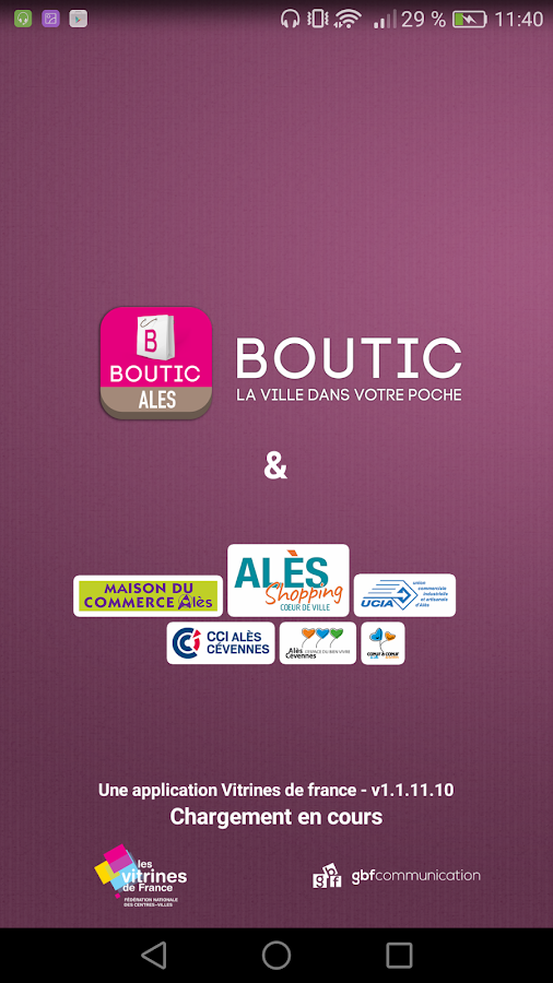 Boutic Alès – Capture d'écran