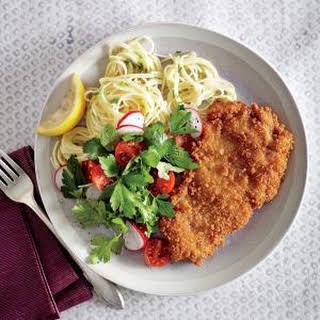 Chicken Cutlets Pasta Recipes.