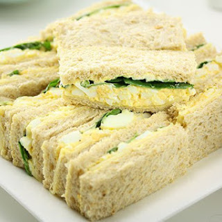 Delicious Egg Sandwiches.