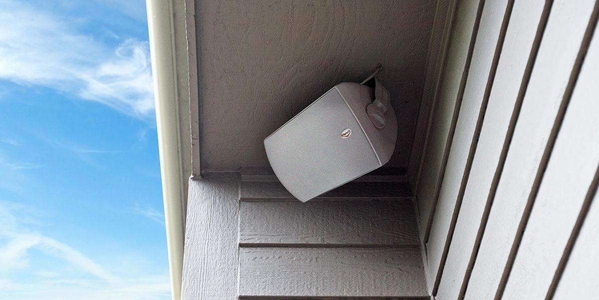 passive outdoor speakers
