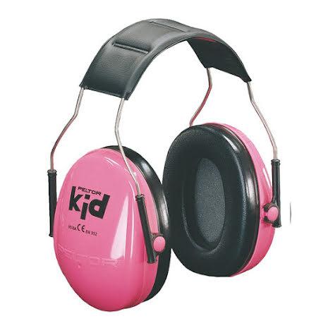 Hörselkåpa Peltor Kid rosa