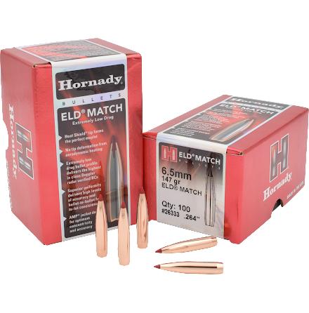 Hornady ELD MATCH 6,5mm 147gr 100st