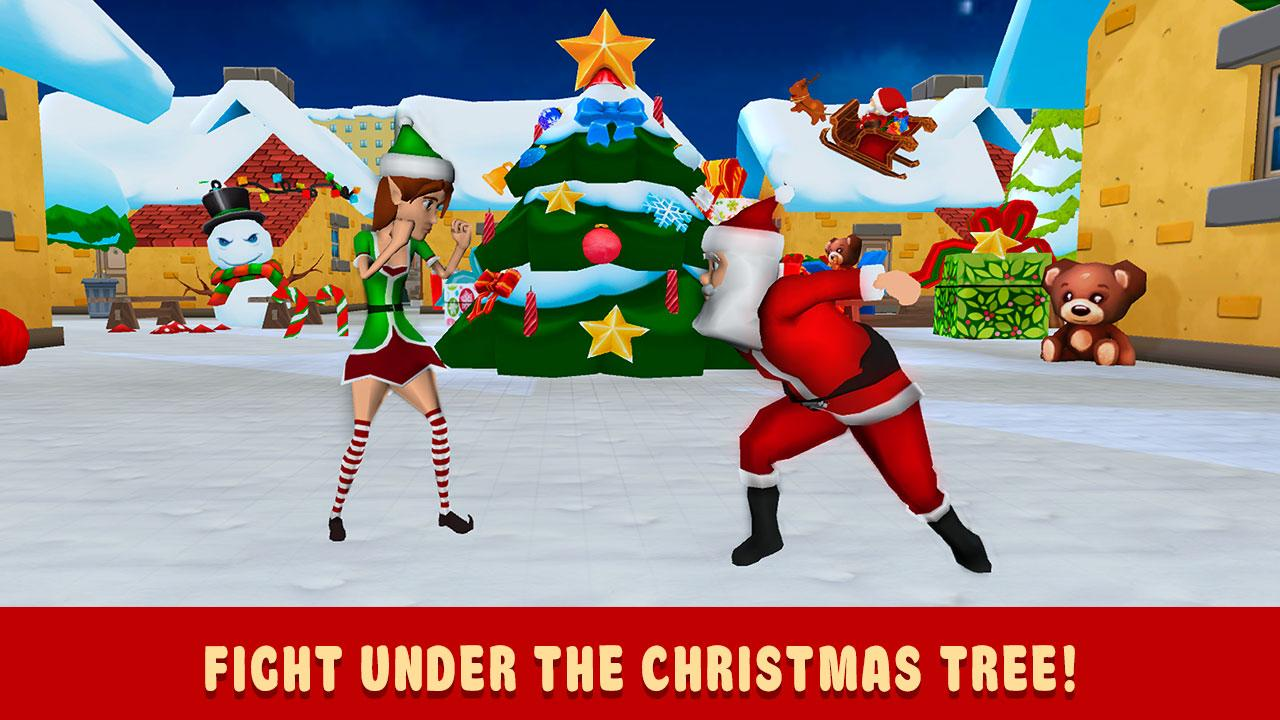 christmas cartoon fighting 3d android apps on google play