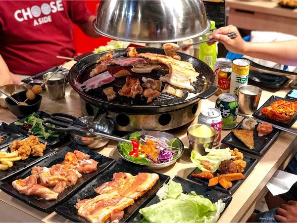 CP值超高的韓式烤肉一人只要$329/肉類熟食選項多樣化/豬對有韓式烤肉吃到飽
