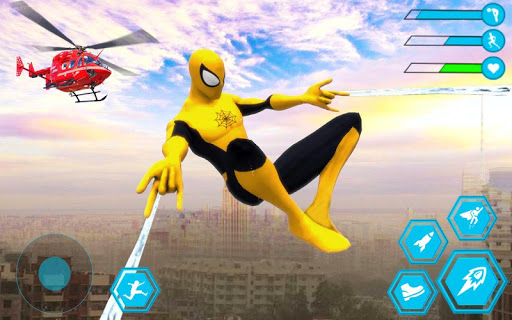 Spider Rope Hero Man: Miami Vise Town Adventure modavailable screenshots 6