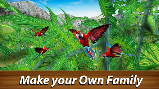 ud83dudc26 Wild Parrot Survival - jungle bird simulator! 1.2.1 screenshots 11