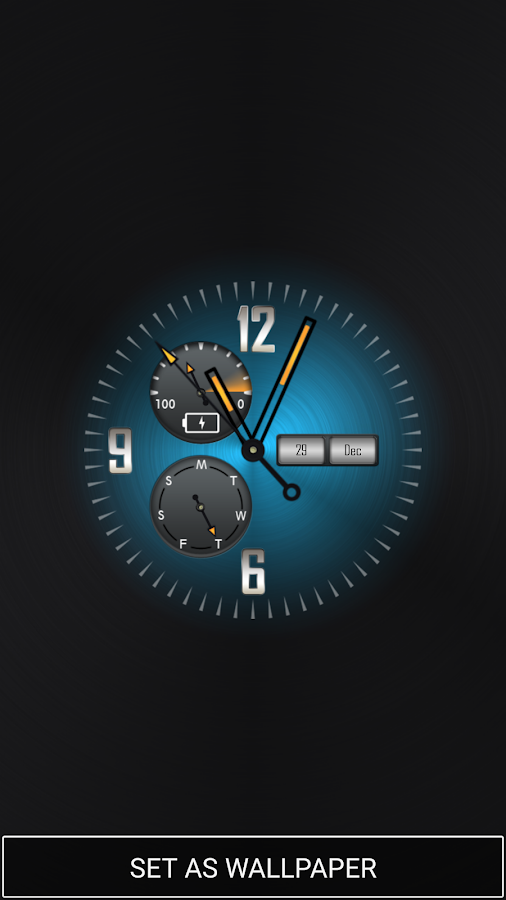 Background Clock Wallpaper Android Apps on Google Play