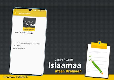 Afaan Oromoo - Islamic QUIZ Gaaffii fi Deebii App