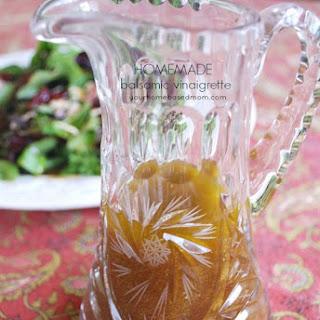 "My ""Go To"" Salad Dressing – Balsamic Vinaigrette."