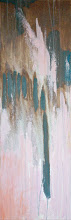 Photo: GREEN PINK EXTRUSION 10X30 mixed media