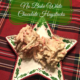 No Bake White Chocolate Haystacks