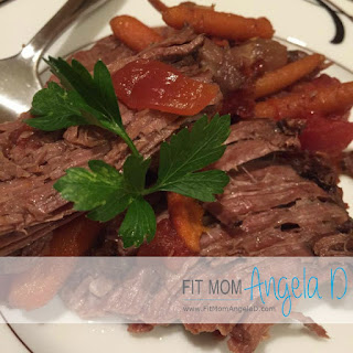 Slow Cooked Red Wine Pot Roast.