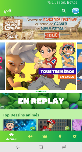 Gulli – L'appli des enfants Android App Screenshot